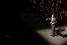 Marcel Gorgori continua la conducció del concert parlant de Verdi
